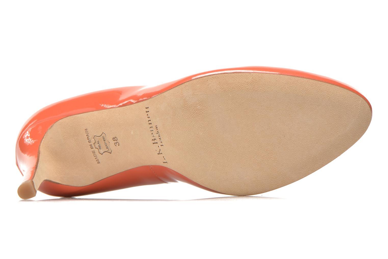 Escarpins L.K. Bennett Stila Orange vue 3/4