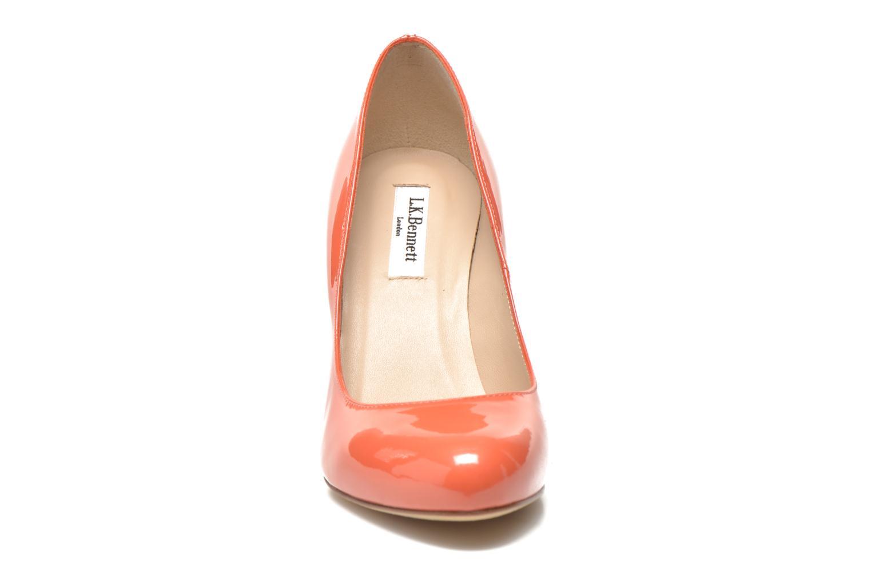 Zapatos de tacón L.K. Bennett Stila Naranja vista del modelo