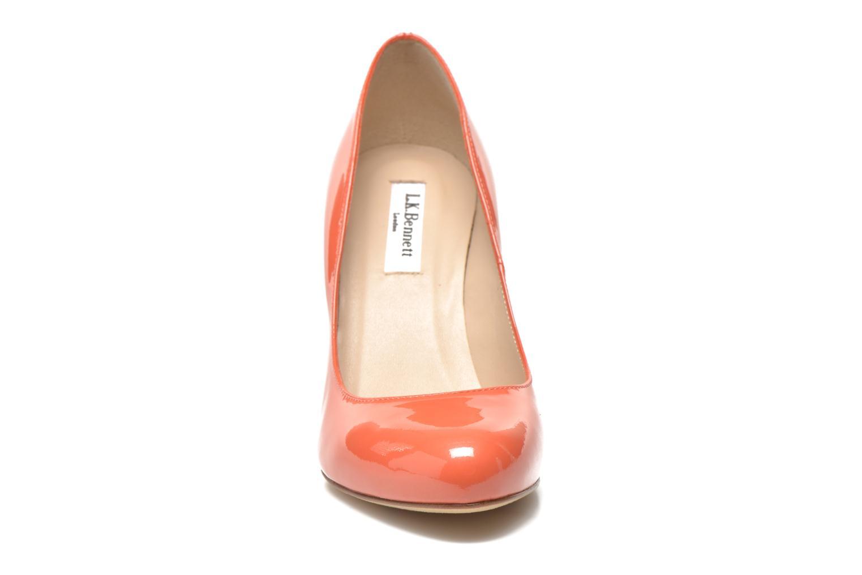 Zapatos de tacón L.K. Bennett Stila Naranja vista de frente
