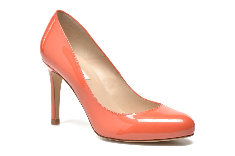 Escarpins L.K. Bennett Stila Orange vue détail/paire