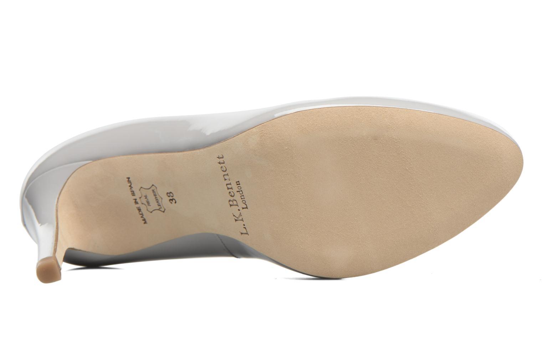 Zapatos de tacón L.K. Bennett Stila Gris vista de arriba