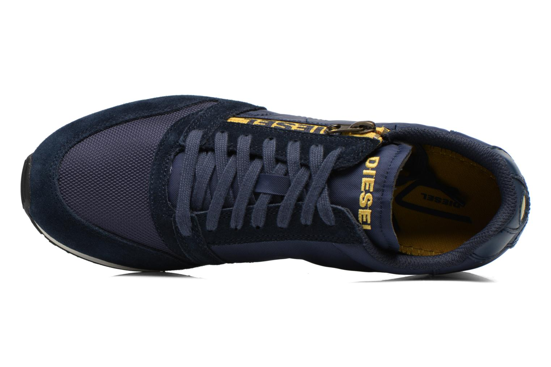 Sneakers Diesel Slocker S Blauw links