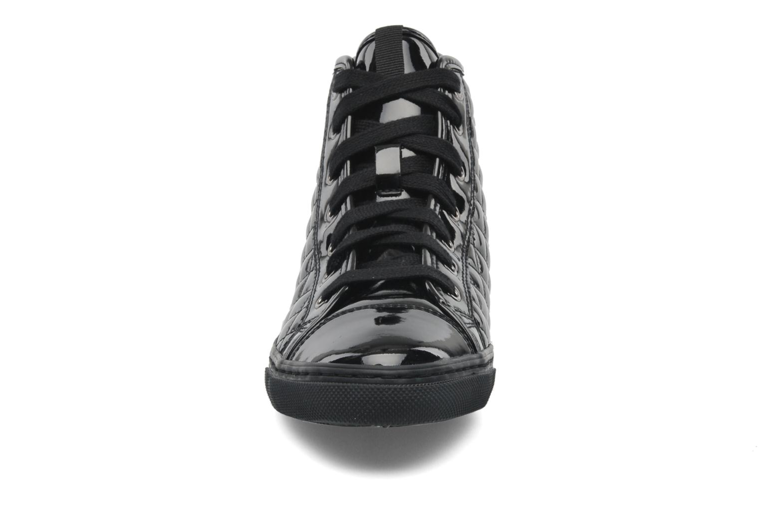 Trainers Geox D NEW CLUB D D4458D Black model view