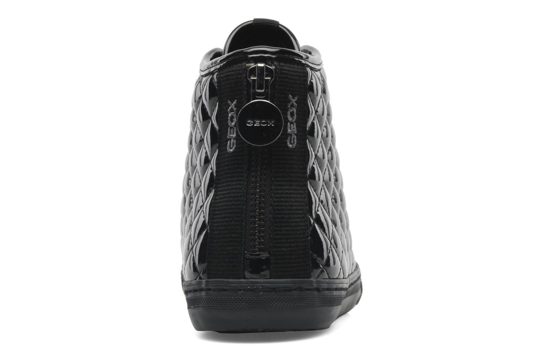 Sneaker Geox D NEW CLUB D D4458D schwarz ansicht von rechts