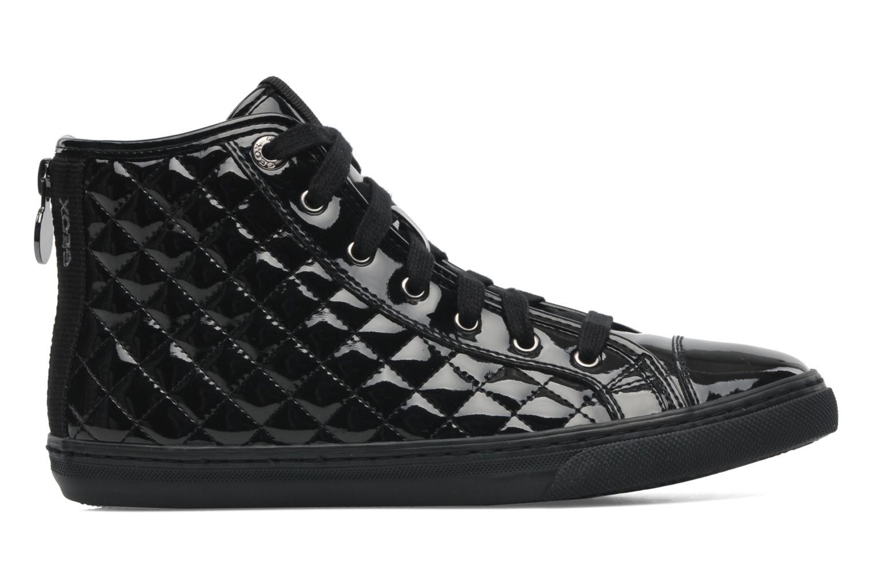 Sneaker Geox D NEW CLUB D D4458D schwarz ansicht von hinten
