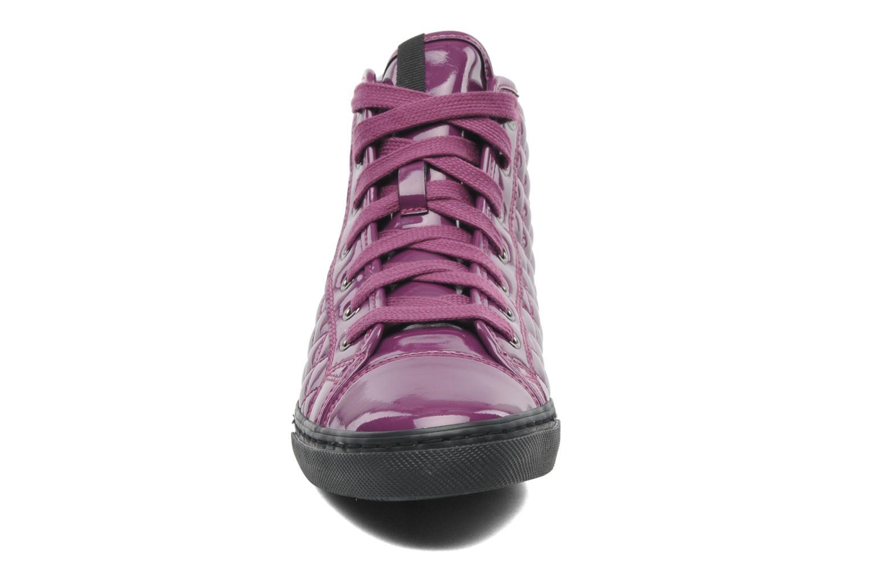 Sneaker Geox D NEW CLUB D D4458D lila schuhe getragen