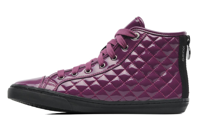 Sneakers Geox D NEW CLUB D D4458D Paars voorkant