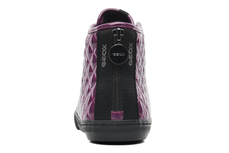 Sneakers Geox D NEW CLUB D D4458D Paars rechts
