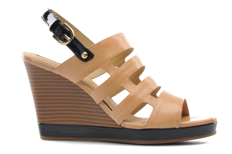 Sandales et nu-pieds Geox D Sibilla S. B Beige vue derrière