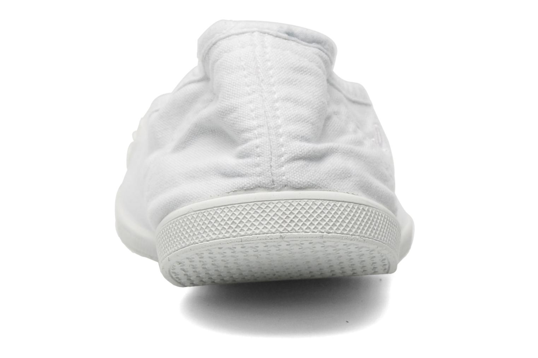 Baskets Kaporal Vandana Blanc vue droite