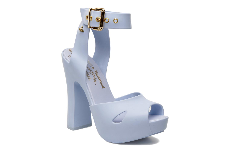 Vivienne Westwood Anglomania + Melissa Slave Sandal. Sp Ad Bleu ciel