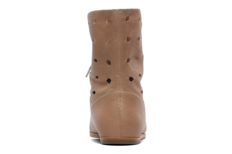 Boots en enkellaarsjes Clarks Maelie Glitter Beige rechts