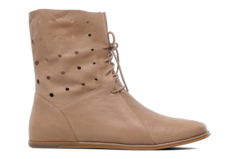 Boots en enkellaarsjes Clarks Maelie Glitter Beige achterkant