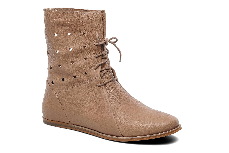 Boots en enkellaarsjes Clarks Maelie Glitter Beige detail