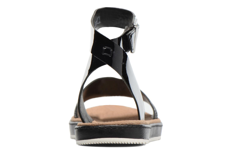 Sandales et nu-pieds Clarks Romantic Moon Noir vue droite