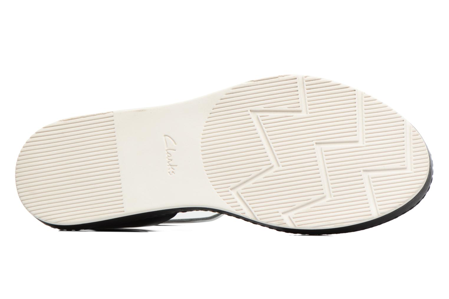 Sandals Clarks Romantic Moon Black view from above