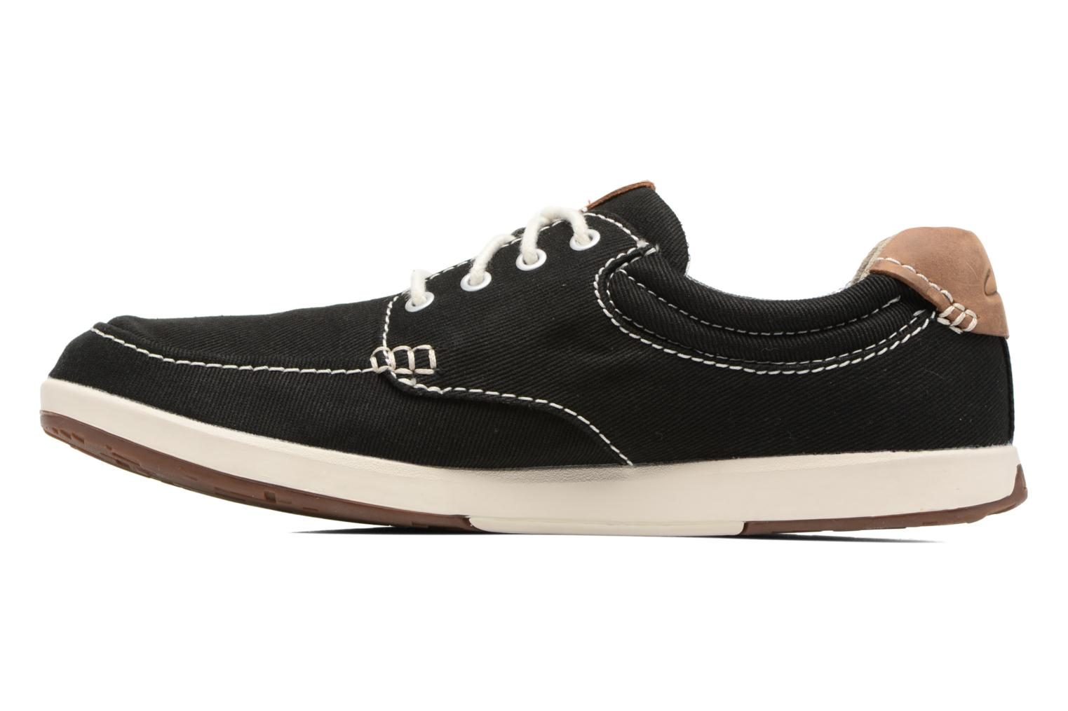 Trainers Clarks Norwin Vibe Black front view