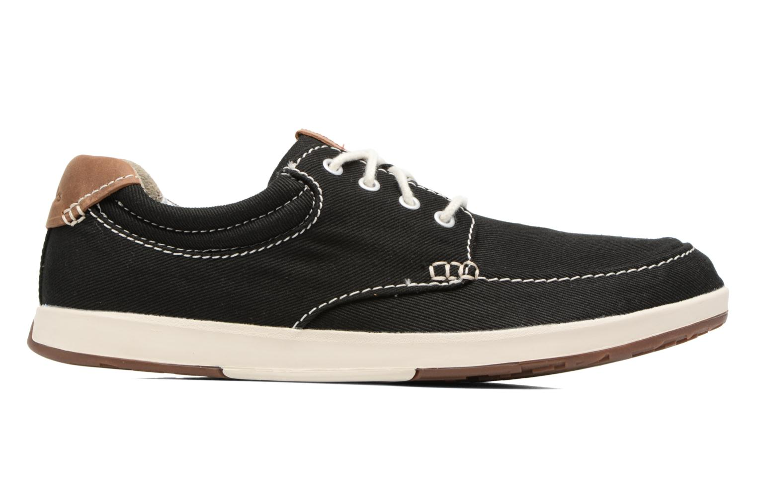 Trainers Clarks Norwin Vibe Black back view