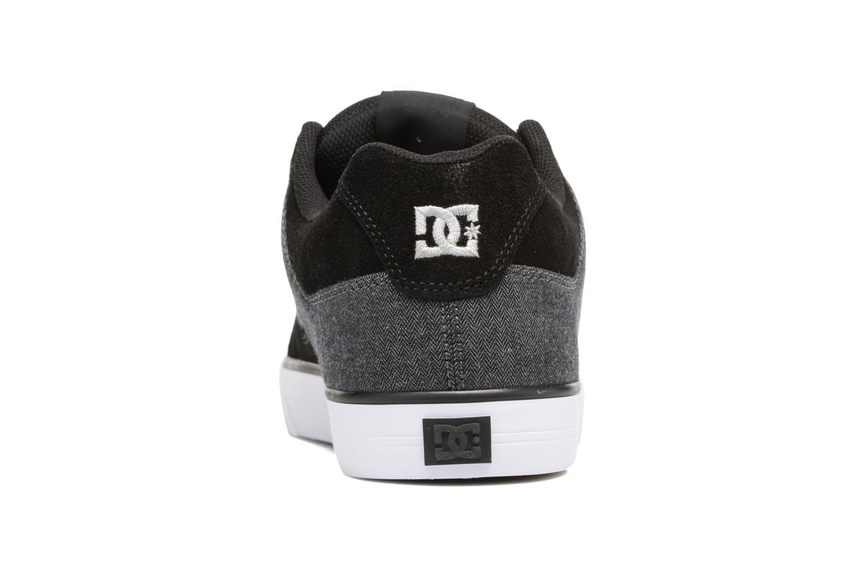 Baskets DC Shoes Pure SE Noir vue droite