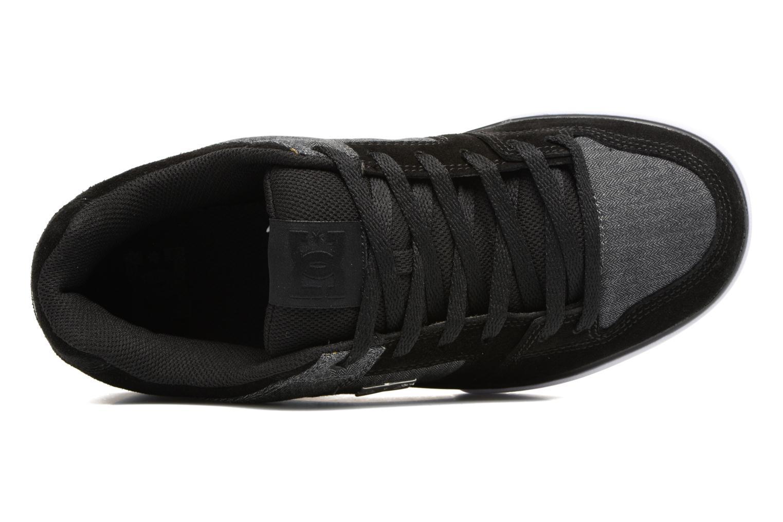 Baskets DC Shoes Pure SE Noir vue gauche