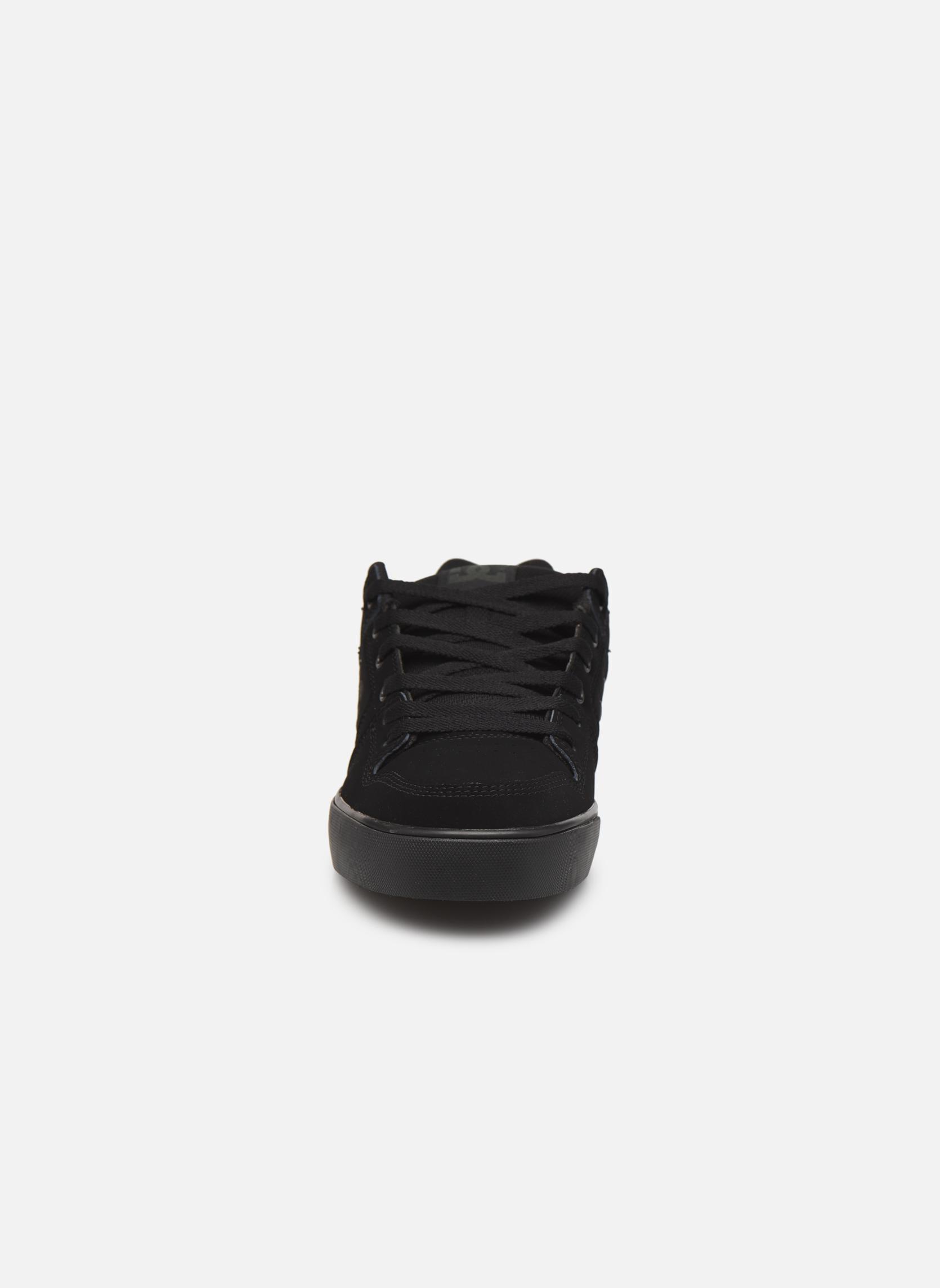 Baskets DC Shoes Pure M Noir vue portées chaussures