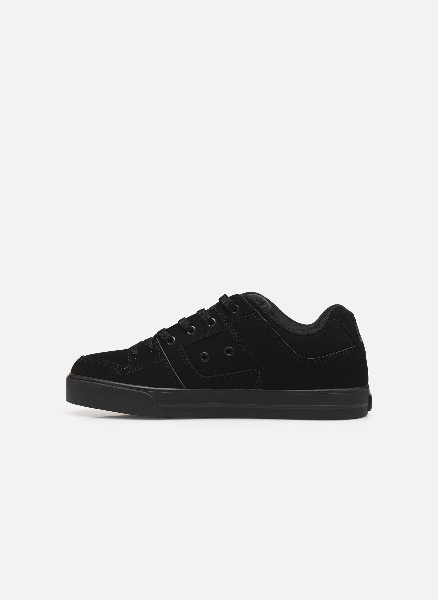 Baskets DC Shoes Pure M Noir vue face