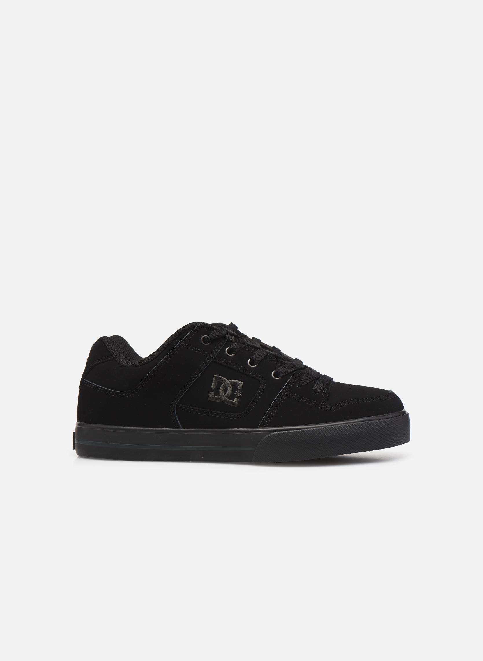 Baskets DC Shoes Pure M Noir vue derrière