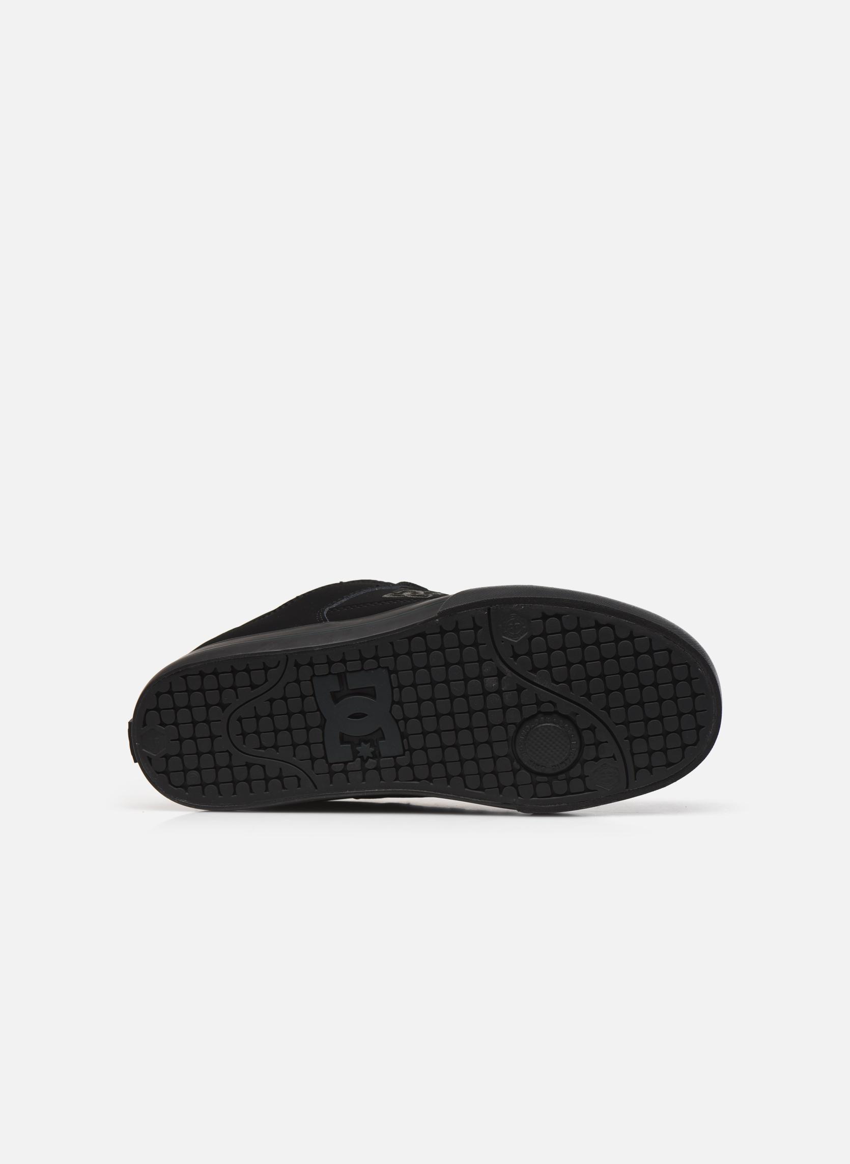 Baskets DC Shoes Pure M Noir vue haut