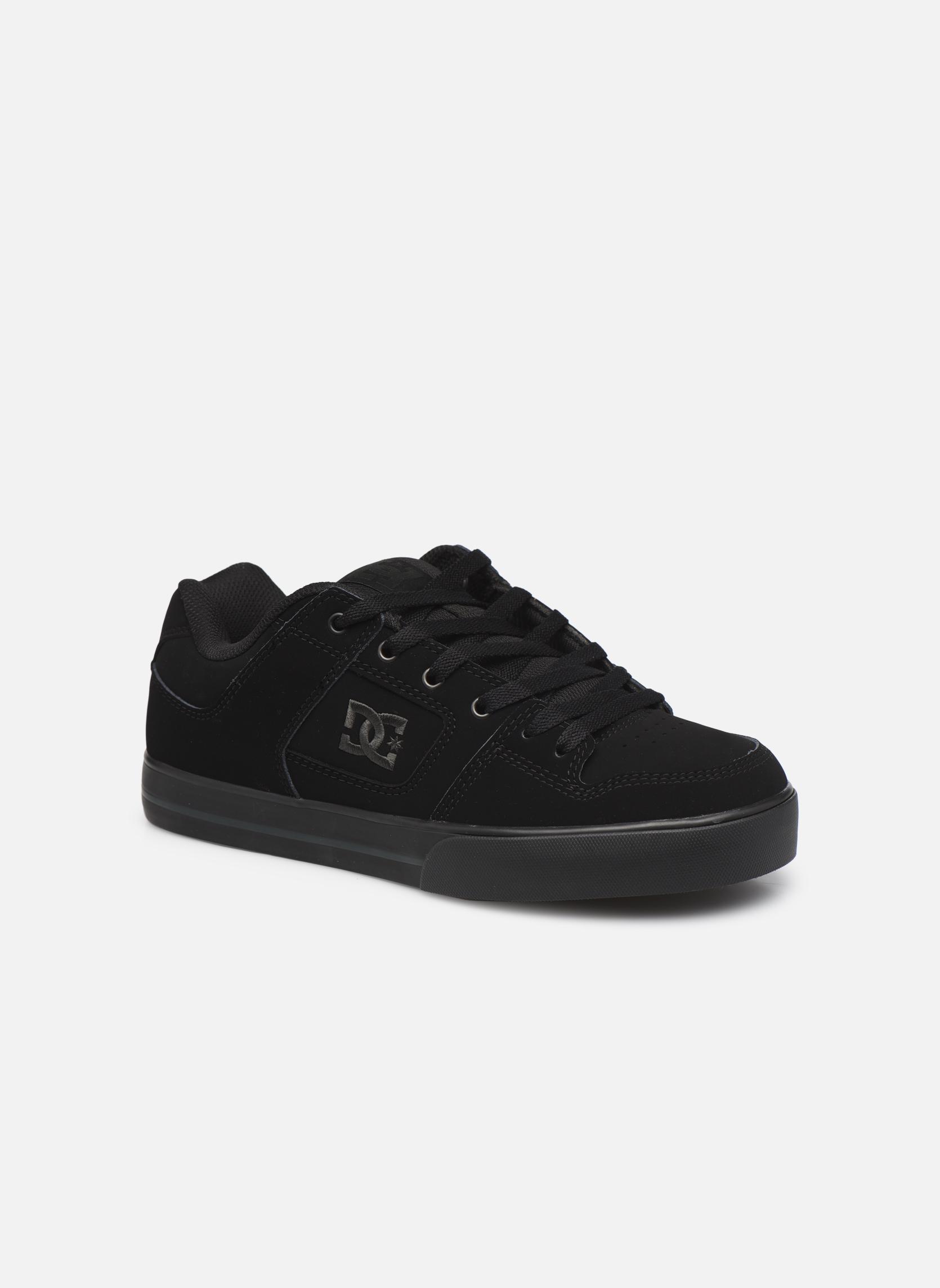 Baskets DC Shoes Pure M Noir vue détail/paire