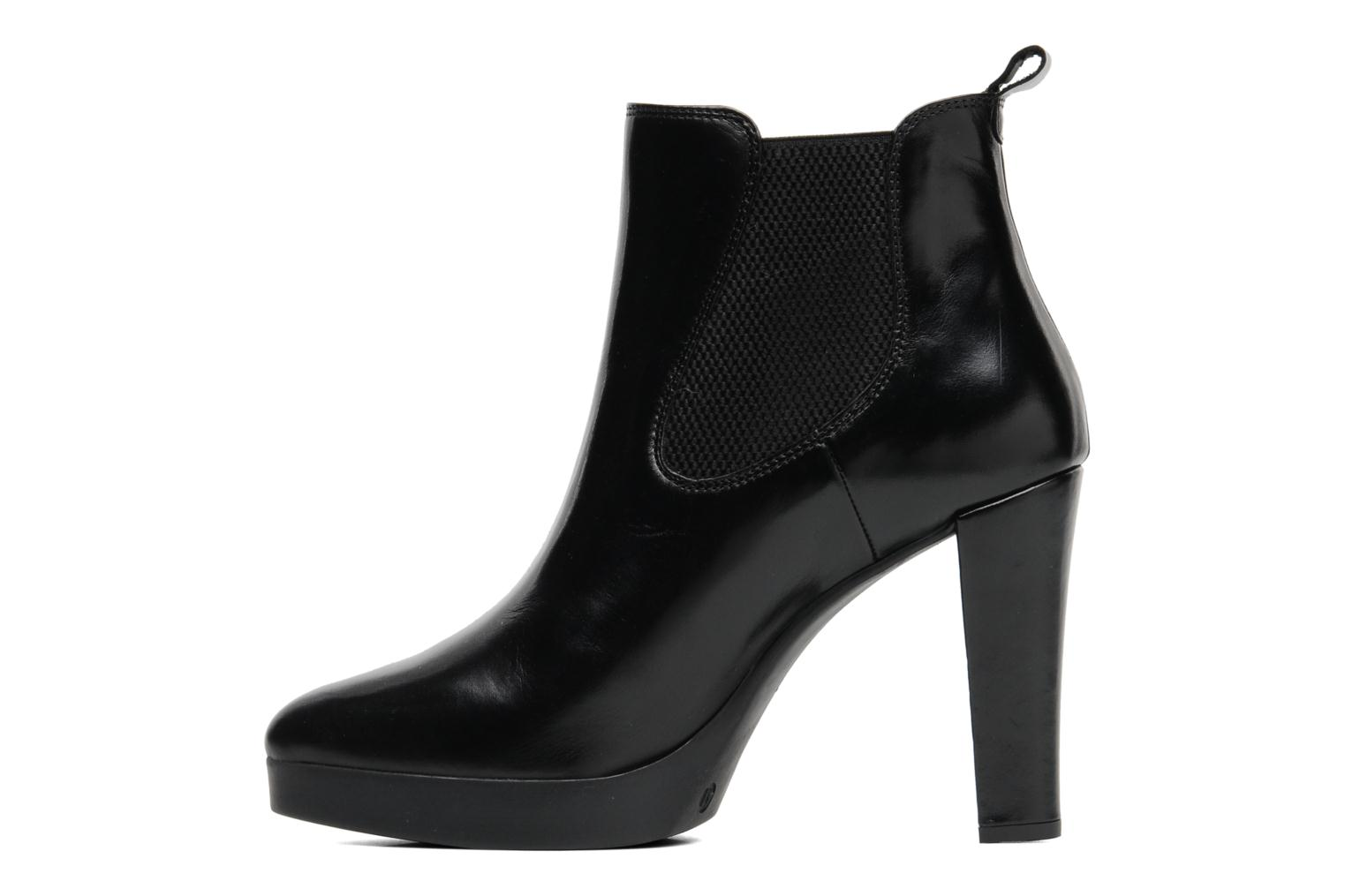 Ankle boots Georgia Rose Tabatière Black front view