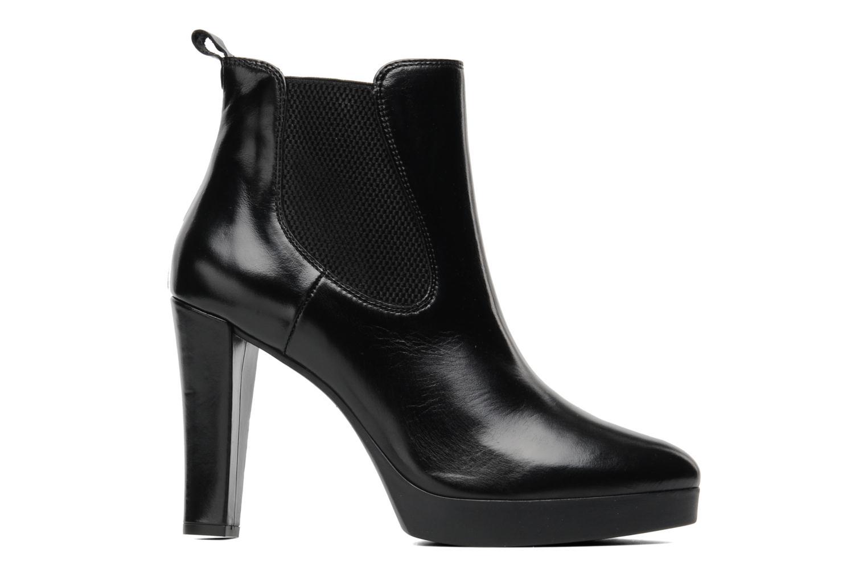 Bottines et boots Georgia Rose Tabatière Noir vue derrière