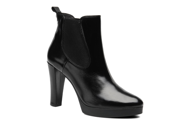 Bottines et boots Georgia Rose Tabatière Noir vue détail/paire