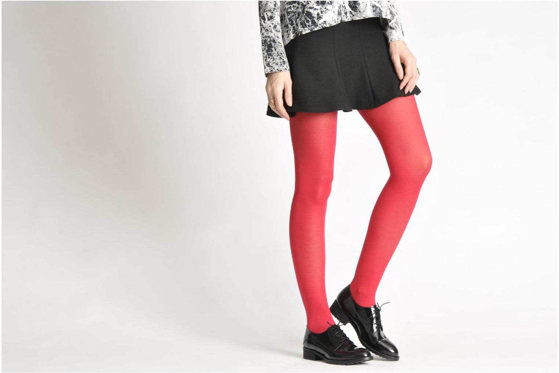 Chaussures à lacets Georgia Rose Tablée Noir vue bas / vue portée sac