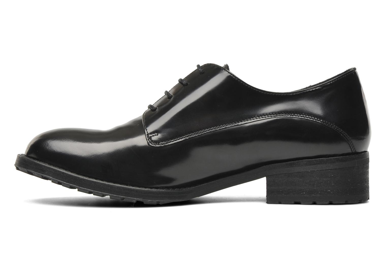 Chaussures à lacets Georgia Rose Tablée Noir vue face