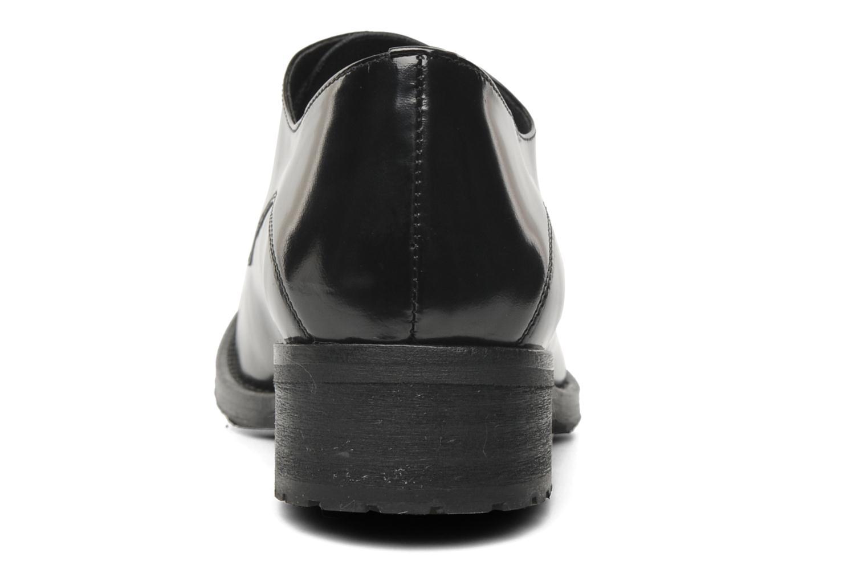 Chaussures à lacets Georgia Rose Tablée Noir vue droite
