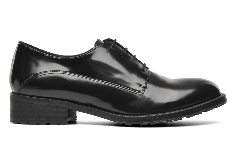 Chaussures à lacets Georgia Rose Tablée Noir vue derrière