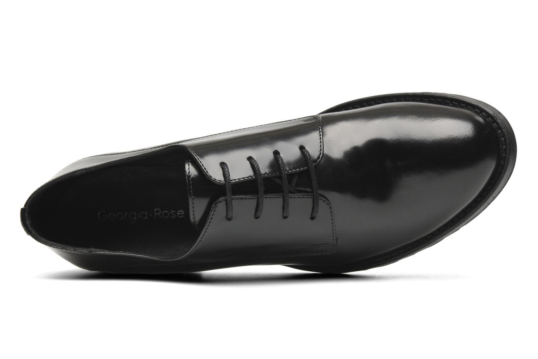 Chaussures à lacets Georgia Rose Tablée Noir vue gauche