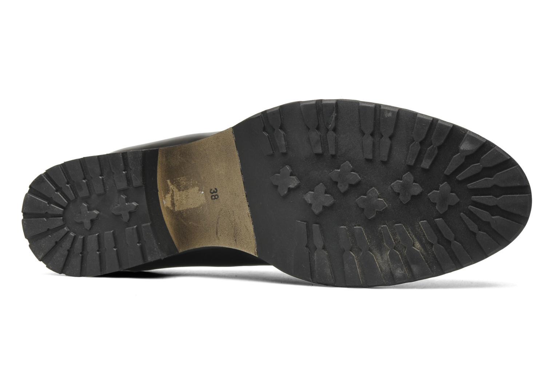 Chaussures à lacets Georgia Rose Tablée Noir vue haut