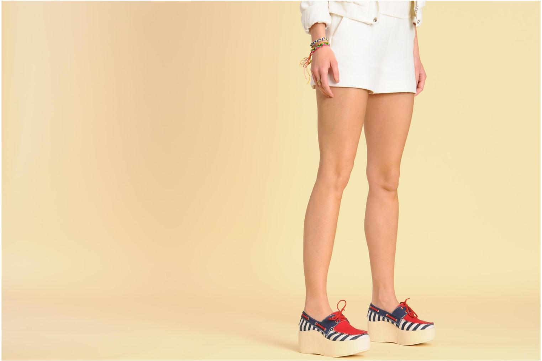 Chaussures à lacets Jeffrey Campbell JC 2013-573 Multicolore vue bas / vue portée sac