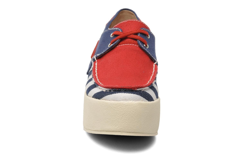 Chaussures à lacets Jeffrey Campbell JC 2013-573 Multicolore vue portées chaussures