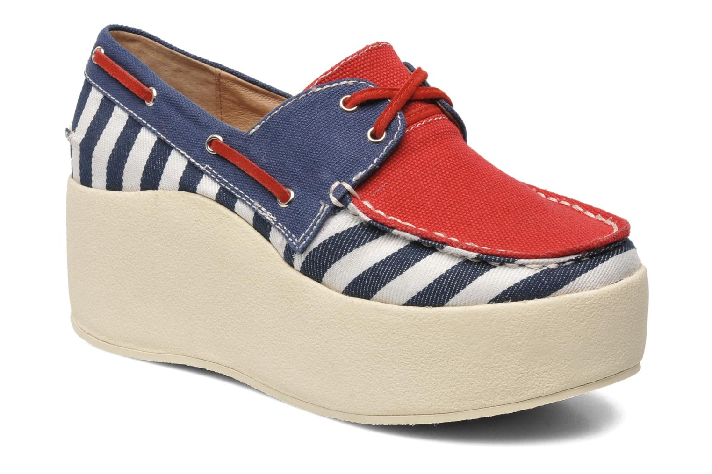 Chaussures à lacets Jeffrey Campbell JC 2013-573 Multicolore vue détail/paire