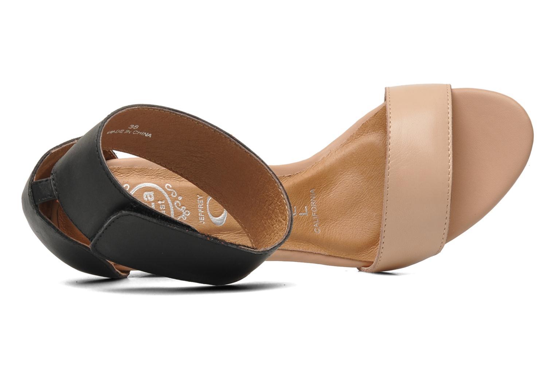 Sandales et nu-pieds Jeffrey Campbell JC-093-1 Noir vue gauche
