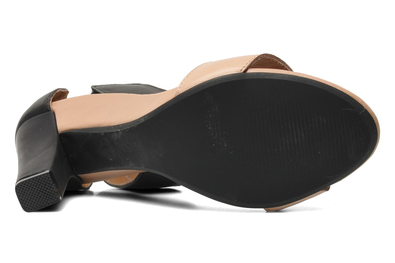 Sandales et nu-pieds Jeffrey Campbell JC-093-1 Noir vue haut