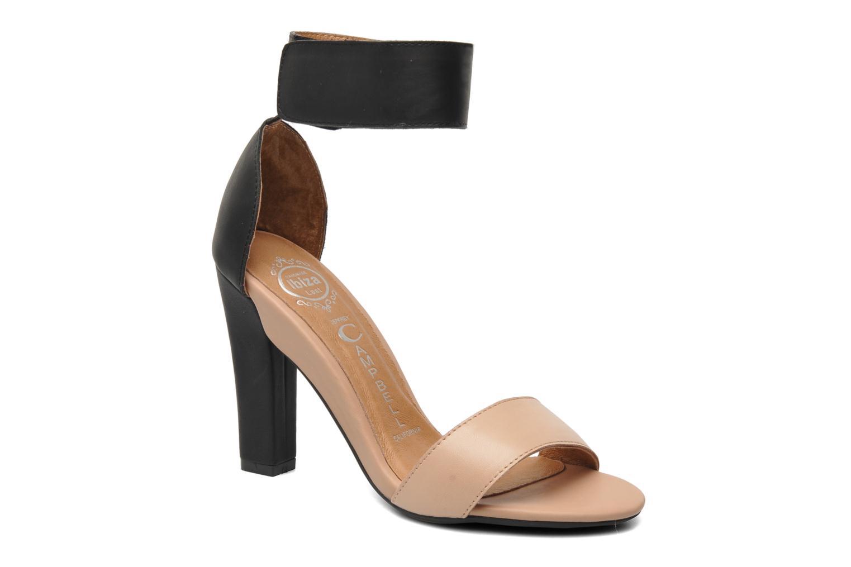 Sandales et nu-pieds Jeffrey Campbell JC-093-1 Noir vue détail/paire