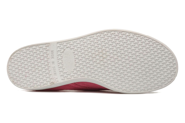 Sneaker Kaporal VICKANO rosa ansicht von oben