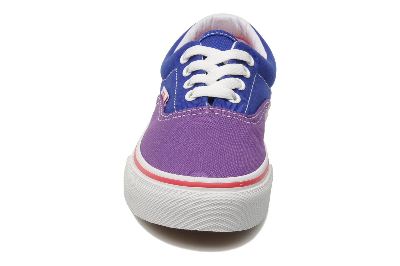Sneaker Vans Era E blau schuhe getragen