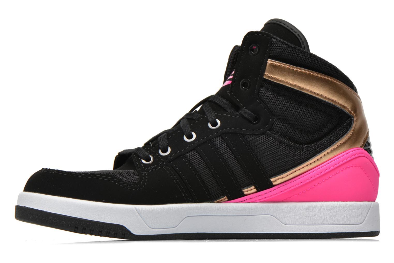 Baskets Adidas Originals COURT ATTITUDE K Multicolore vue face
