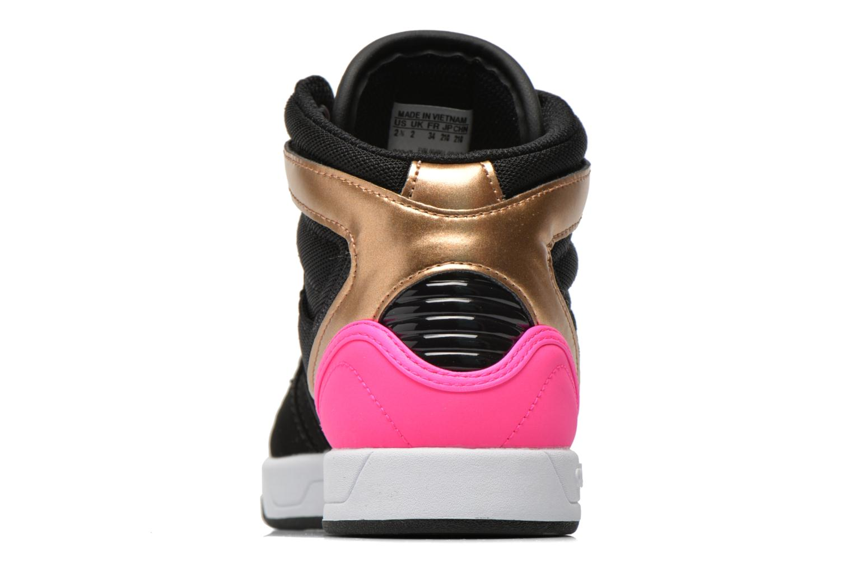 Baskets Adidas Originals COURT ATTITUDE K Multicolore vue droite