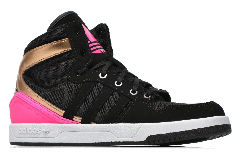 Baskets Adidas Originals COURT ATTITUDE K Multicolore vue derrière