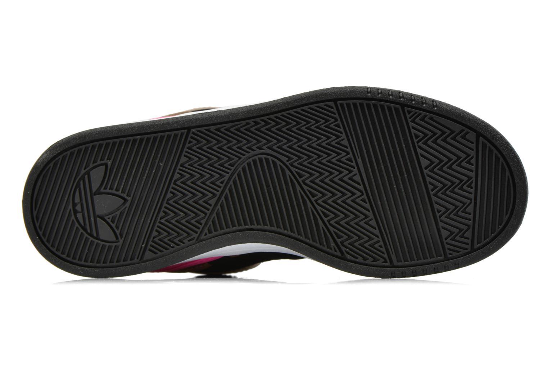 Baskets Adidas Originals COURT ATTITUDE K Multicolore vue haut
